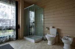 moderne Badkamer door GOOD WOOD