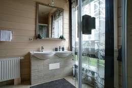 modern Bathroom by GOOD WOOD