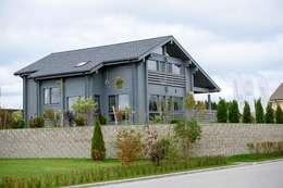 moderne Huizen door GOOD WOOD