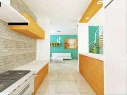 Cocinas de estilo minimalista por DLR ARQUITECTURA/ DLR DISEÑO EN MADERA