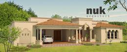 Barreal I: Casas de estilo clásico por nuk arquitech
