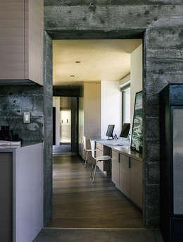 Butterfly House: modern Study/office by Feldman Architecture