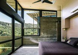 Butterfly House: modern Bedroom by Feldman Architecture