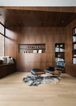 modern Study/office by Feldman Architecture