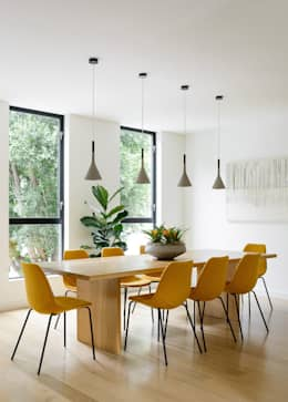 Fitty Wun: modern Dining room by Feldman Architecture