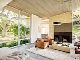 Ranch O|H: modern Living room by Feldman Architecture