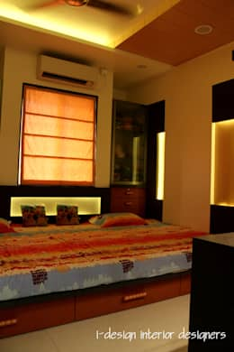 3bhk: modern Bedroom by I - design interior designer's