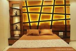 3bhk: modern Bedroom by I - design interior designer's
