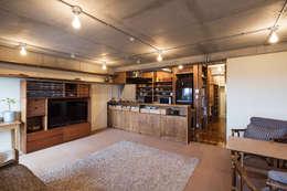学芸大学・ROOM・S(GAKUGEIDAIGAKU・ROOM・S): 吉田裕一建築設計事務所が手掛けたキッチンです。