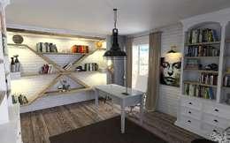 Estudios y oficinas de estilo rural por Murat Aksel Architecture