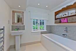 Japonica Cottage, Surrey : rustic Bathroom by Orchestrate Design and Build Ltd.