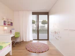 modern Nursery/kid's room by meier architekten