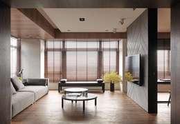 modern Living room by 榭琳傢飾