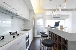 moderne Keuken door 直譯空間設計有限公司