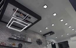 industrial Kitchen by СИРИУS Архитектурное бюро