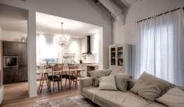 Open space con cucina e soggiorno in 25 mq: idee e consigli