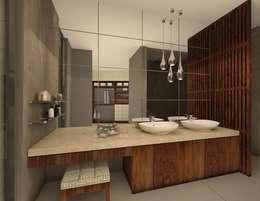 حمام تنفيذ Vau Studio