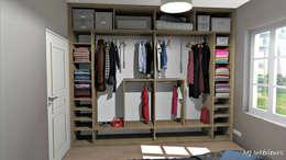 غرفة الملابس تنفيذ MJ Intérieurs
