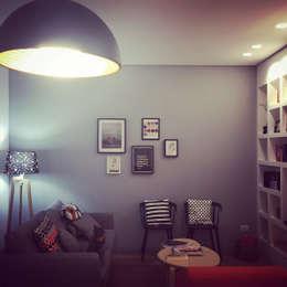 Projekty,  Salon zaprojektowane przez Next Urban Solutions