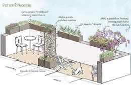 Terrazas de estilo  por Richiamo Vegetale