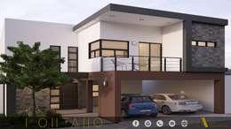 PROYECTO MONTANO: Casas de estilo moderno por ADC arquitectos