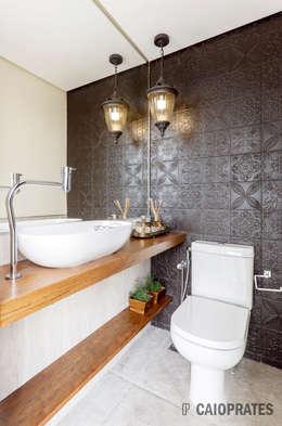 浴室 by Caio Prates Arquitetura e Design