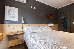 Projekty,  Sypialnia zaprojektowane przez Projeto Bem Bolado