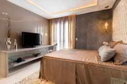 modern Bedroom by Lícia Cardoso e Rafaella Resende