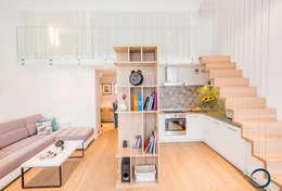 modern Kitchen by LEMUR Architekci