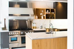 MATERIKA BY PEDINI , SHOWROOM SAN ANGEL : Cocinas de estilo moderno por ARTE CUCINE/ PEDINI SAN ANGEL