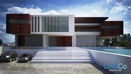 Casas de estilo minimalista por Unikco Arquitectos