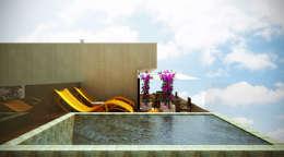 Piletas de estilo moderno por SCK Arquitetos