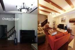 Ruang Keluarga by 七輪空間設計