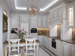 مطبخ تنفيذ Дизайн бюро Оксаны Моссур