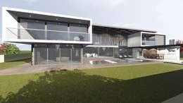 House Vallub: modern Houses by Green Code Designs Pty Ltd
