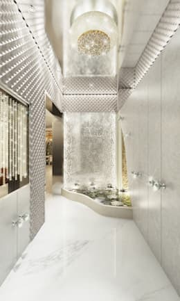GRANDE:  Corridor & hallway by AAMRAPALI BHOGLE