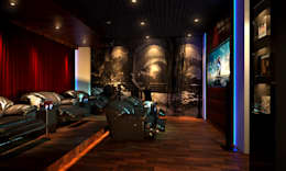 Home Theater Room: classic Media room by AAMRAPALI BHOGLE
