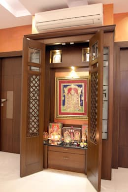 10 steps to build a perfect pooja room for Design of mandir in living room