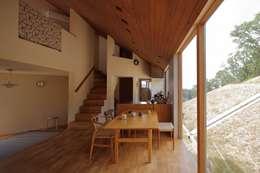 神戸北の家: 藤原・室 建築設計事務所が手掛けたダイニングです。
