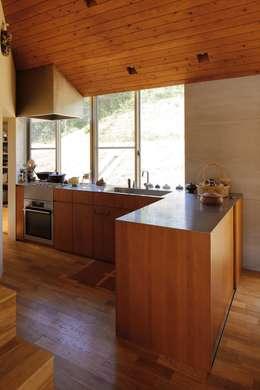 神戸北の家: 藤原・室 建築設計事務所が手掛けたキッチンです。