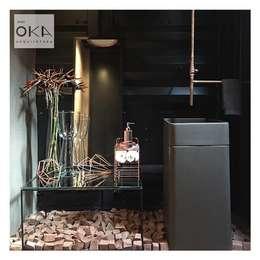 浴室 by Alessandra Orsi - Studio OKA Arquitetura