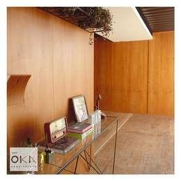 書房/辦公室 by Alessandra Orsi - Studio OKA Arquitetura
