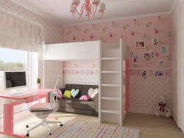 غرفة الاطفال تنفيذ NK-Line I Natascha Kuzmenko I Modernes Interior Design