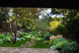 Jardines de estilo rústico de Sophie coulon - Architecte Paysagiste