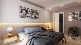 modern Bedroom by Beniamino Faliti Architetto