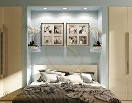 Projekty,  Sypialnia zaprojektowane przez status