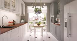 I'Mimarlik – Mutfak: kırsal tarz tarz Mutfak