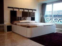 غرفة نوم تنفيذ Inscape Designers