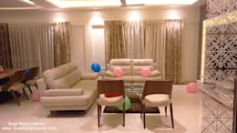 Interior of Residence: modern Living room by Sree Balaji Interior