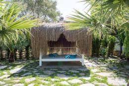 Ebru Erol Mimarlık Atölyesi – Önal & Haike  Öncebe Evi: akdeniz tarzı tarz Bahçe